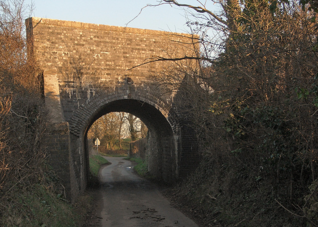 Cuckoo Bridge, nr Nottage from the west