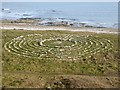 "NZ4162 : ""Stone circle"" at Whitburn by Oliver Dixon"