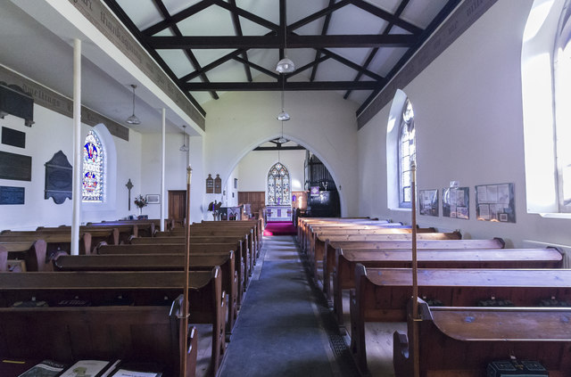 Interior, Ss Peter & Paul church, Kettlethorpe