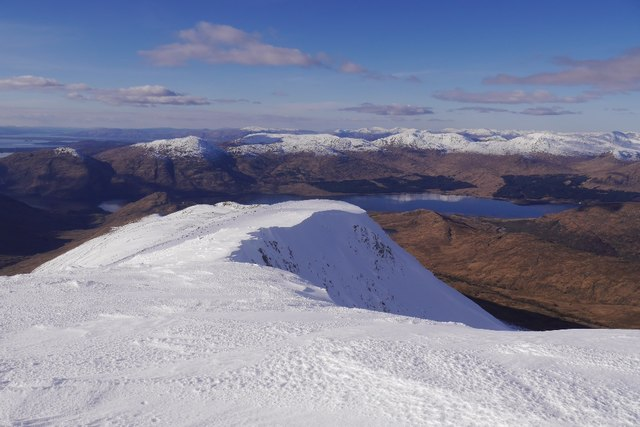 West ridge, Beinn a' Chochuill