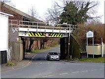 SO9494 : Railway bridge over Darkhouse Lane near Coseley, Dudley by Roger  Kidd