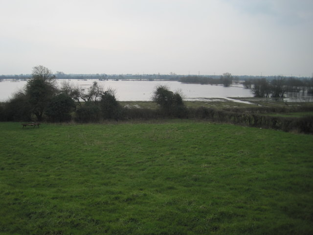 River Shannon in flood, near Banagher