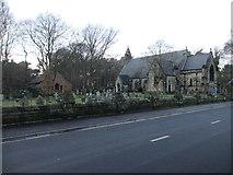 SD2806 : St Luke's, Formby by John S Turner