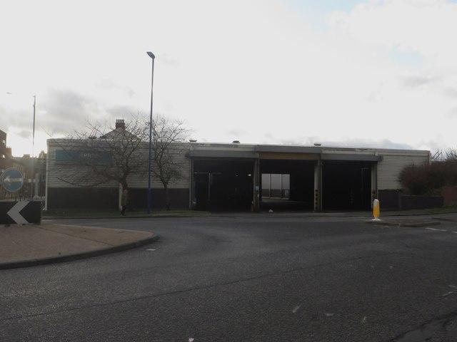 Arriva bus depot, Blyth