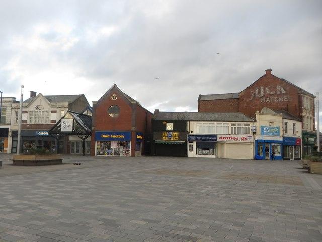 Shops, Blyth Market Place
