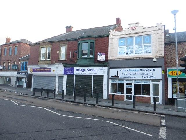 Shops, Waterloo Road, Blyth