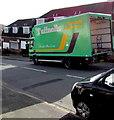 ST3091 : Tuffnells Parcels Express lorry, Larch Grove, Malpas, Newport by Jaggery
