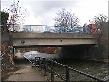 TQ2182 : Canal bridge 7 (Old Oak Lane) by John Slater