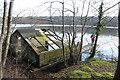 NX3543 : Boathouse, White Loch of Myrton by Billy McCrorie
