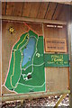 NX3543 : Plan of Walks at Monrieth Estate by Billy McCrorie