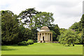 SP6737 : Temple of Ancient Virtue, Stowe Park by Jo Turner