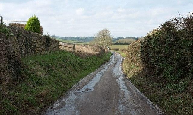 Lane to Farmborough