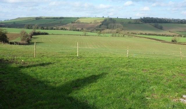 Farmland near Priston