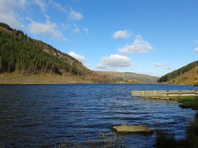 Llyn Geirionydd, Snowdonia, North Wales