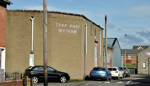 Former Belfast Transport Museum (March 2016)