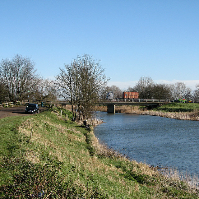 Littleport: fishing near the A10 bridge