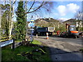 H4772 : Road repairs, Riverview Road, Omagh by Kenneth  Allen