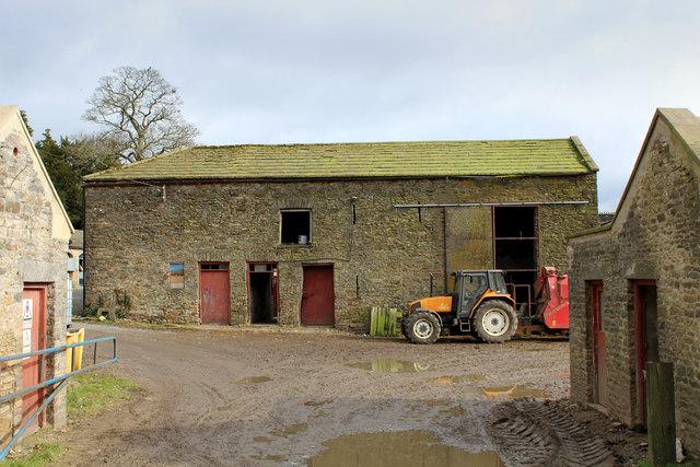 Farm Outbuilding behind Bolton Hall