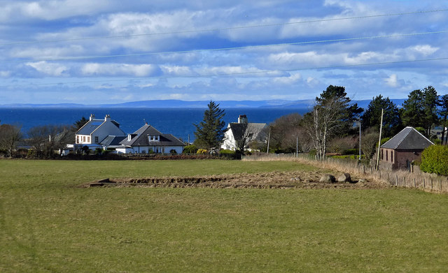 Old Mill Pond Site At Turnberry