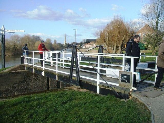 Swing Bridge at Diglis