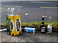 H4772 : Rubbish along Donaghanie Road by Kenneth  Allen