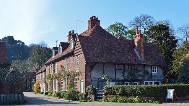 Cottages, Hambleden, Buckinghamshire
