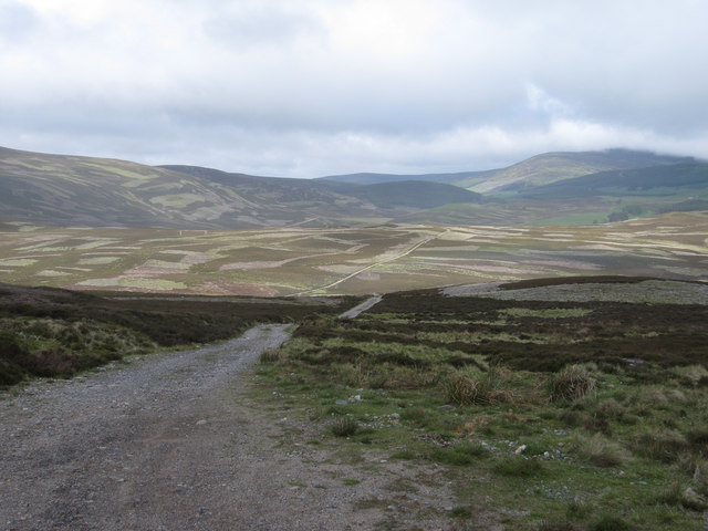 Grouse moors by the A939
