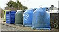 J2890 : Recycling bins, Ballyclare (March 2016) by Albert Bridge