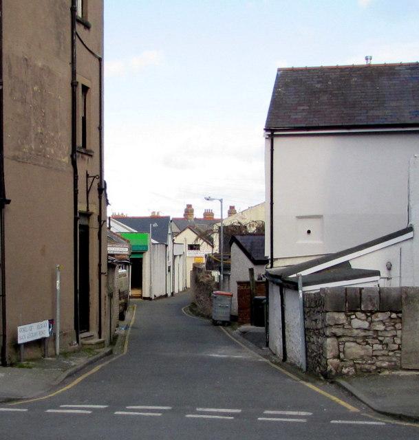 Back Belgrave Road, Colwyn Bay