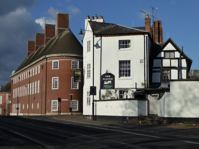 Public house and former fire station