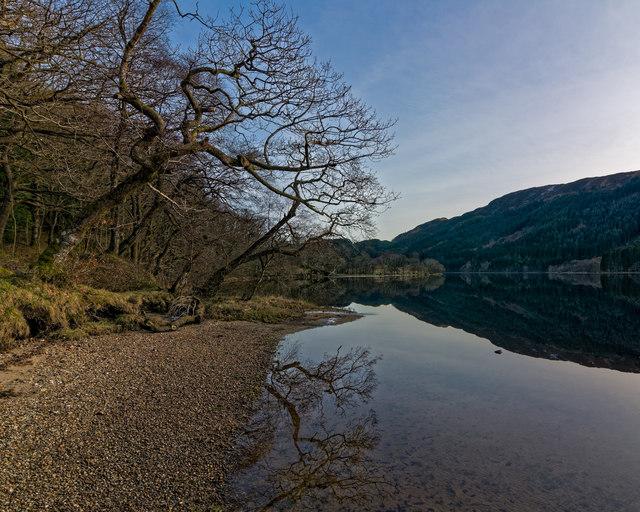 Reflections in Loch Chon