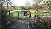 ST6660 : Sewage works, Farmborough by Derek Harper