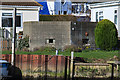 SZ1692 : WWII defences in the environs of Bournemouth & Christchurch: Elkins Boatyard, Christchurch - pillbox (2) by Mike Searle