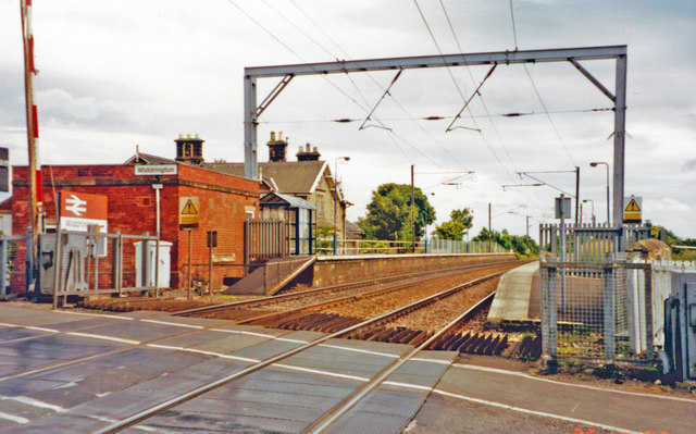 Widdrington station, ECML 2002