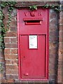 SO8553 : Victorian letterbox by Philip Halling