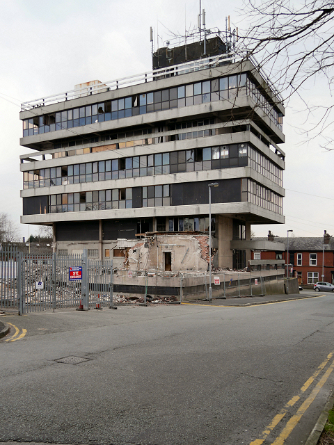 Demolition of Former Police Headquarters (February 2016)