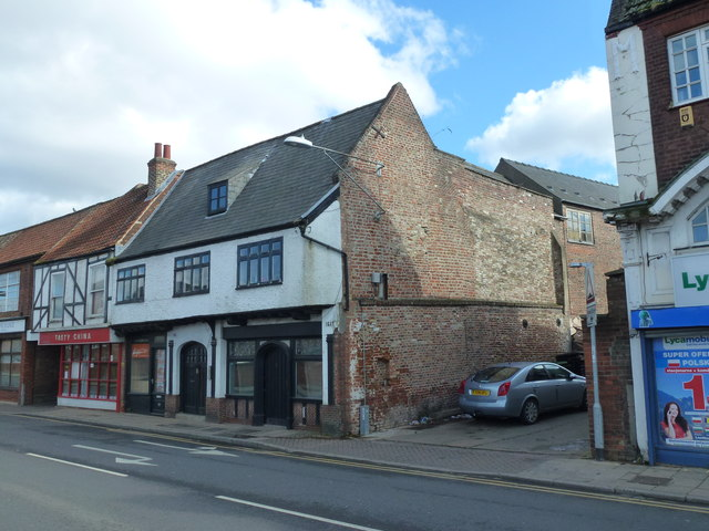 The Half Moon Inn (Site of) - Public Houses, Inns and Taverns of Wisbech