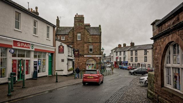 Brampton town centre