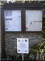 ST5956 : Parish notice board by Neil Owen