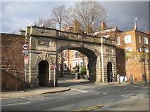 SJ4065 : Bridge Gate, Chester by Richard Vince