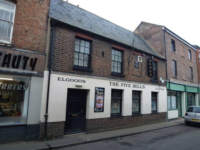 The Five Bells - Public Houses, Inns and Taverns of Wisbech