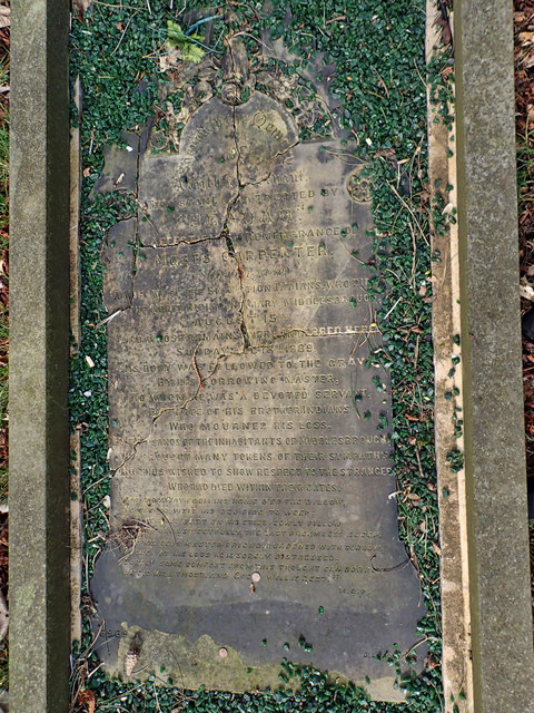 Moses Carpenter's Grave, Linthorpe Cemetery