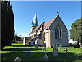 SP0548 : St James The Great, Harvington: early March 2016 by Basher Eyre