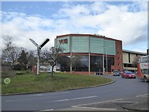 SX9292 : The swift tower, Paris Street roundabout, Exeter by David Smith