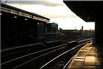 SO8455 : End of the day, Foregate Street Station by Alan Murray-Rust