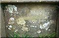 SD5778 : Carved panel on road bridge over Sealford Beck, Hutton Roof by Karl and Ali