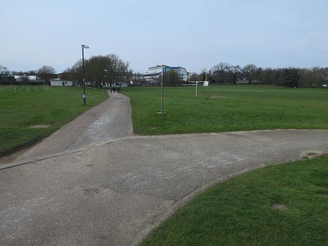 Playing fields, UEA