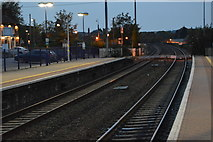 SU3368 : Level crossing, Hungerford Station by N Chadwick
