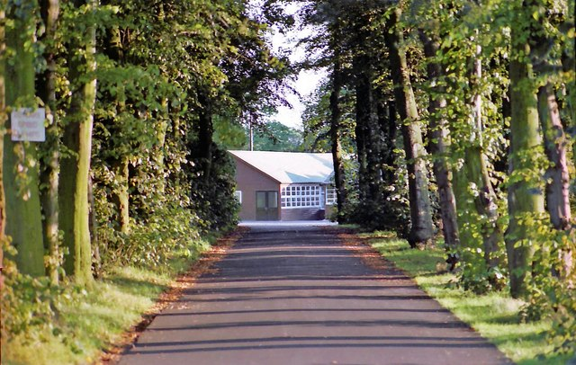 Driveway to St Ambrose College