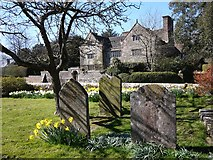 TQ3632 : The Manor house from the Churchyard by Alan Corby